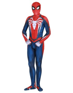 Halloween Super Hero PS4 Spiderman Advanced Bodysuit HC008