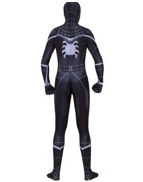 Halloween Hero Man Black Spiderman Homecoming Bodysuit HC012