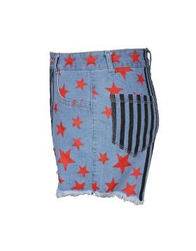 Cosplay Prop Birds of Prey Harley Quinn Denim Shorts HC014