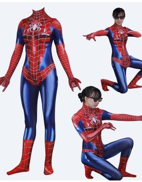 Halloween Cosplay Hero Woman Spidergirl May Parker Bodysuit HC016