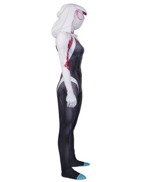 3D Print Spider Gwen Stacy Jumpsuit Cosplay Costume