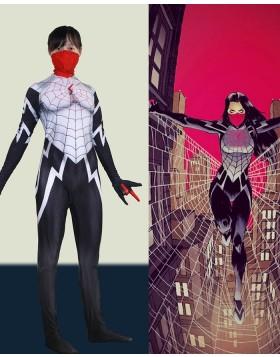 Silk Cindy Moon Spider Cosplay Bodysuit Halloween Costume
