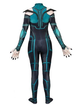 Thor Ragnarok The Goddess Of Death Hela Bodysuit Cosplay Costume