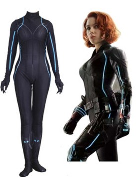 Avengers Movie Black Widow Cosplay Bodysuit Halloween Costume for Women