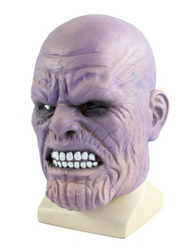 Avengers Movie Latex Thanos Masks For Adult