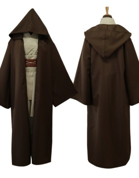 Star Wars Movie Cosplay Jedi Knight Robe Costume For Men