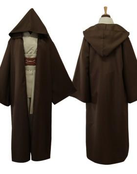 Star Wars Movie Cosplay Jedi Knight Robe Costume For Men
